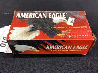 1 box of American Eagle 327 Federal magnum