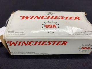 1 box of Winchester 44 rem magnum cartridges
