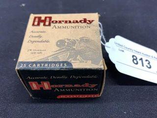 1 box of Hornady 357 mag cartridges
