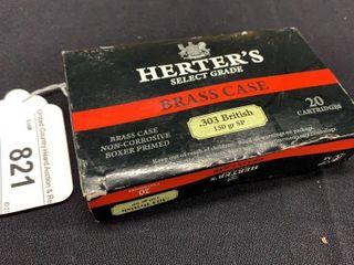 1 box of HerterIJs select grade  303 British 150