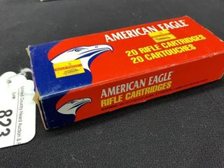 1 box of American Eagle 7 62 x 39 rifle