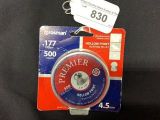 1 container of Premier  177 caliber