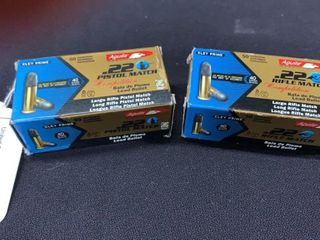 2 boxes of Aquila  22 long rifle pistol match