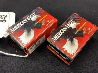 2 boxes of American Eagle  22 cal long rifle