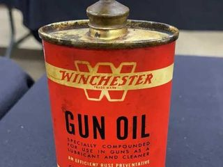Winchester gun oil