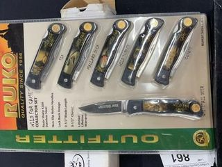 Ruko Outfitter knife collection