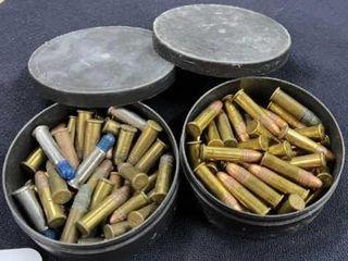 2 tins of shells