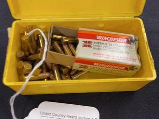 1 box Winchester super x 22 long rifle cartridges