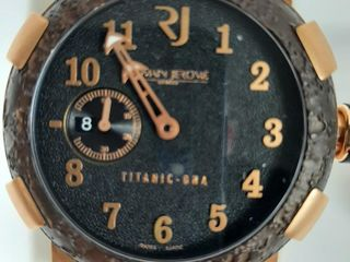 ROMAIN JEROME lIMITED EDITION TITANIC DNA WATCH
