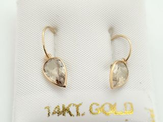 14K YEllOW GOlD ZUlTANITE COlOR CHANGING 2 5CT