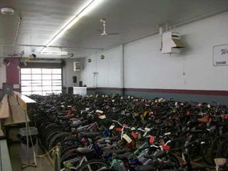 OVER 250 BICYClES AND APPROX 300 ITEMS TO BE SOlD
