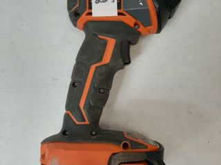 RIDGID lIGHT WITH BATTERY  NO CHARGER