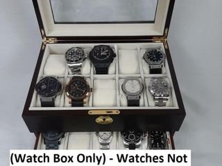 BOX ONlY   WATCHES NOT INClUDED    WATCH BOX FOR