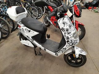 WHITE EBIKE  NO CHARGER   NO OWNERSHIP