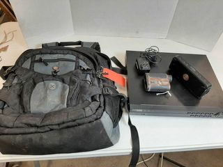 BACKPACK WITH DVR WITH CORD