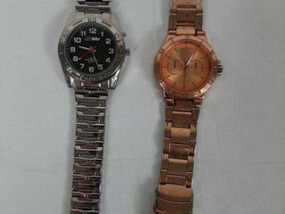 2  ASSORTED WATCHES MISSING PIECES