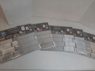STICK IT SElF ADHESIVE WAll TIlES  5 PACKAGES