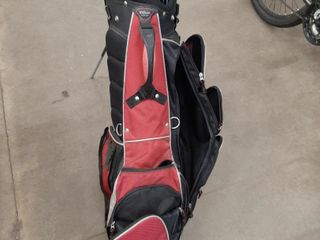 WIlSON GOlF BAG WITH TOMMY ARMOUR RIGHT IRONS