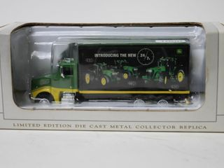 JOHN DEERE PETERBIlT TRUCK AND TRAIlER 6