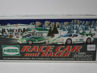 HESS TOY RACE CAR AND RACER