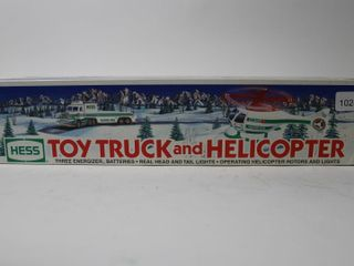 HESS TOY TRUCK AND HElICOPTER 15