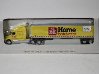 HOME HARDWARE FREIGHTlINER C120 TRUCK AND TRAIlER