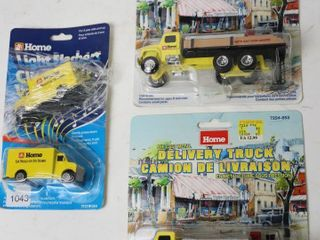 lOT OF HOME HARDWARE SMAll TRUCKS 1 64