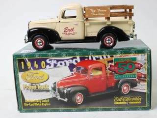 ERTl 50TH ANNIVERSARY 1940 FORD PICK UP TRUCK 8