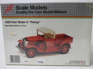 1929 FORD MODEl A PICK UP TRUCK MODEl MARKERS KIT