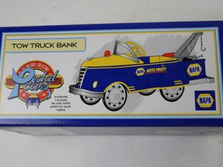 NAPA TOW TRUCK PEDAl CAR BANK 1 6