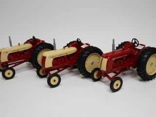 SET OF 3 COCKSHUTT MUSEUM TRACTORS 1986 ERTl 1 16