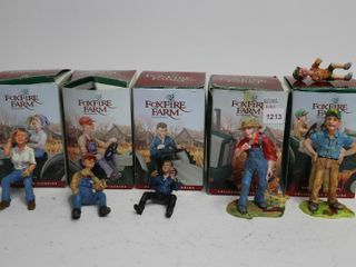 5 FOXFIRE FARM FIGURINES