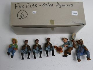 6 FOXFIRE FARM FIGURINES