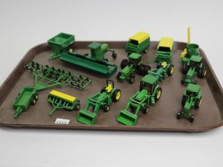 JOHN DEERE TRACTORS AND IMPlEMENTS 1 64
