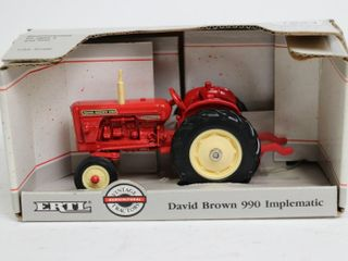 DAVID BROWN 990 IMPlEMATIC TRACTOR 1 43