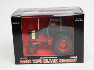CASE 1170 BlACK KNIGHT TRACTOR COllECTOR EDITION