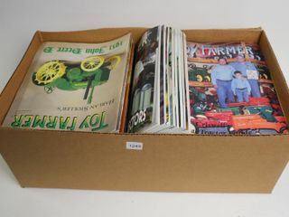 BOX OF TOY FARMER MAGAZINES