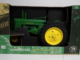 JOHN DEERE 1939 MODEl B TRACTOR SCAlE MODElS 1 8