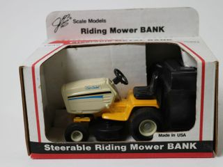 CUB CADET STEERABlE METAl BANK SCAlE MODElS 1 16