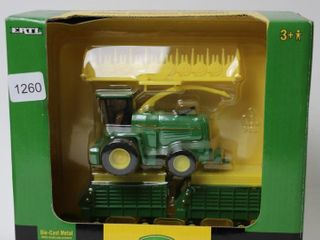JOHN DEERE FORAGE HARVESTER AND WAGONS ERTl 1 64