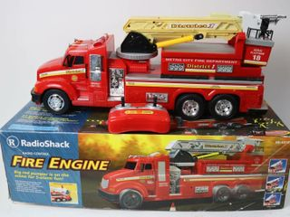 RADIO CONTROl FIRE ENGINE RADIO SHACK 21