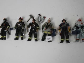 HK DESIGN FIRE FIGHTER FIGURES