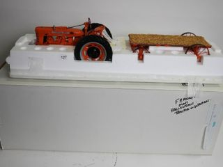 FRANKlIN MINT HARVEST HOllOW FARMAS TRACTOR AND