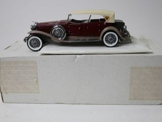 1930 DEUSENBURG TOURISTER CAR 9  FRANKlIN MINT