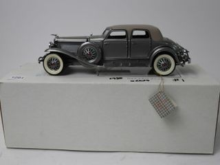 1930 DEUSENBURG SJ GRAND CAR 9  FRANKlIN MINT