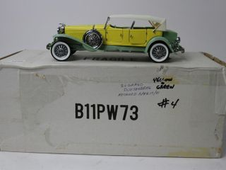1930 DUESENBERG J DERHAM CAR 9  FRANKlIN MINT