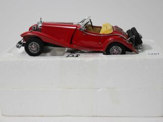 MERCEDES 500K ROADSTER CAR 9  FRANKlIN MINT