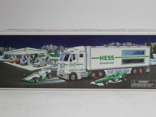 HESS TOY TRUCK AND RACERCARS 15