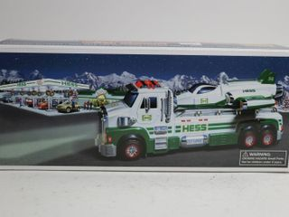 HESS TOY TRUCK AND SPACE CRUISER WITH SCOUT 14
