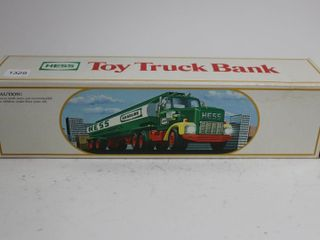HESS TOY TANKER TRUCK BANK 14